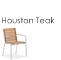 Houston Dining Arm Chair teak Link